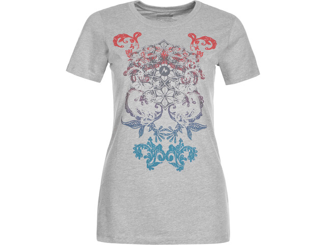 Marmot Henna Camiseta Mujer, steel heather